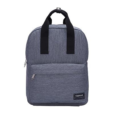 TINYAT Classic Bookbag Hiking Daypacks Water Resistant Rucksack for Travel T809 delicate