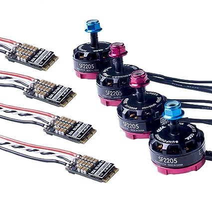 Amazon com: SunFounder Quadcopter Kit Motor ESC Combo, 2