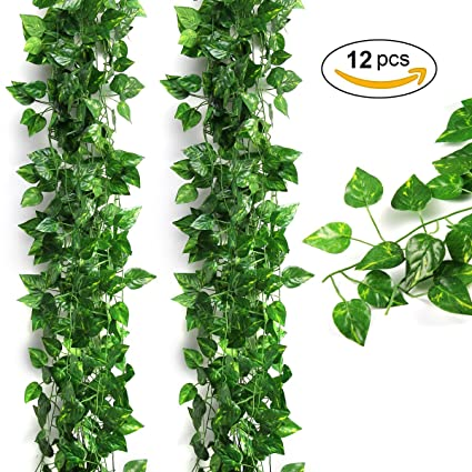 Amazon Artificial Ivy Leaflanmu Fake Leaves And Vinesivy