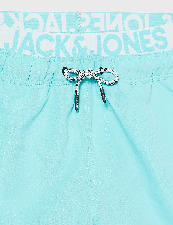 Jack /& Jones Jjiaruba Jjswimshorts AKM Db WB Solid Ba/ñador para Hombre