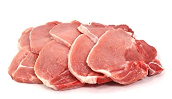 Thin Size Pork Chops 1 4 Inch Thick 2 Pounds Family