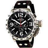 TW Steel - TW-11 - Montre Homme - Quartz - Analogique - Bracelet cuir noir