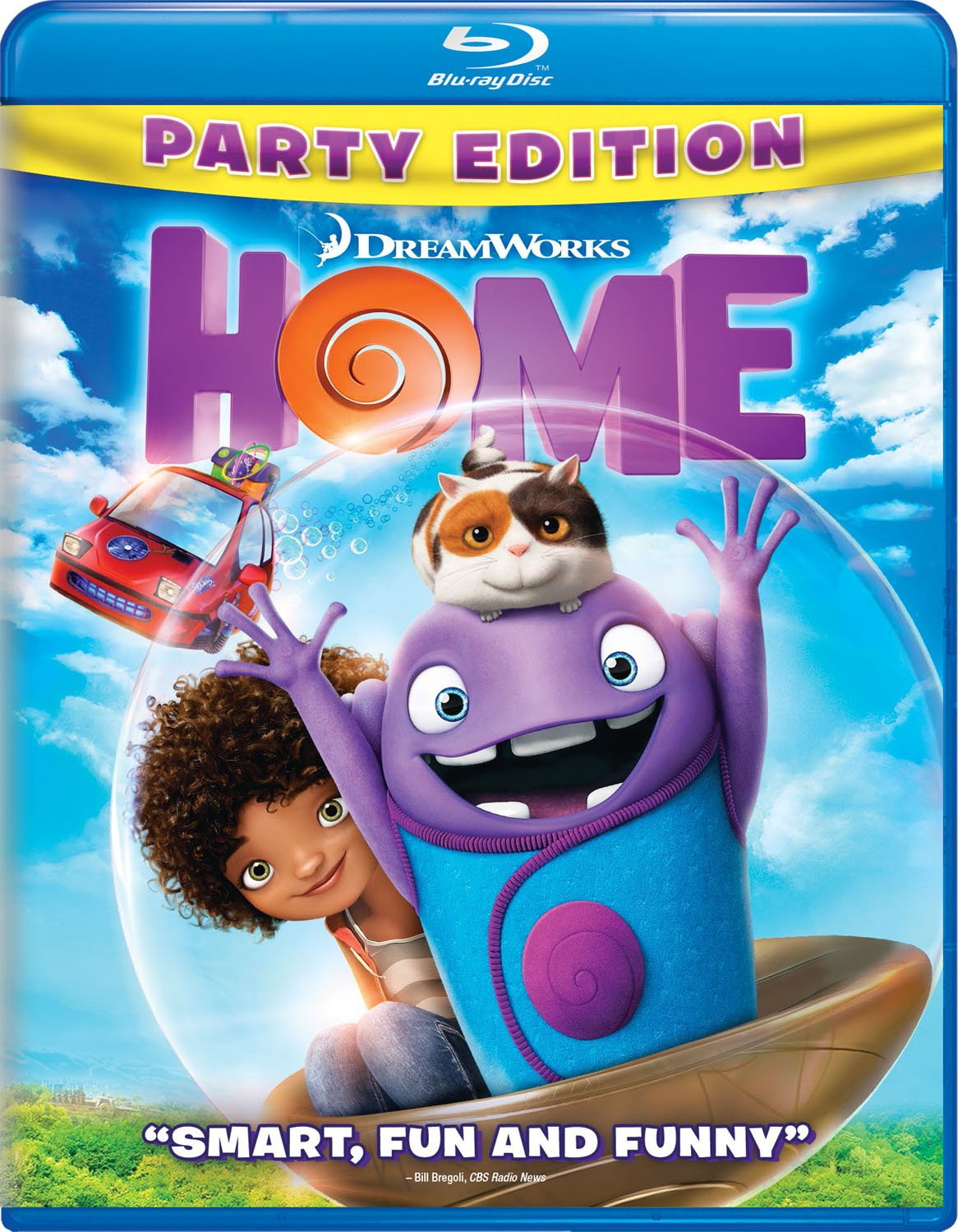 Home (Blu-ray + DVD)