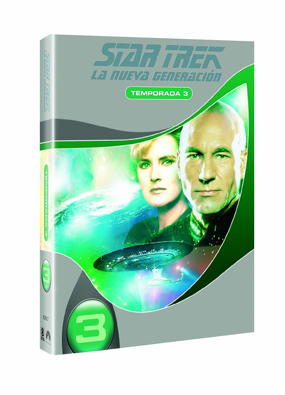 Star Trek Next Generation 3ª Temp. [DVD]: Amazon.es: Patrick Stewart, Levar Burton, Michael Dorn, Jonathan Frakes, Denise Crosby, Marina Sirtis, ...