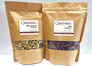 product image for Homestead Gristmill — Non-GMO Multi-Colored Popcorn/ Red Popcorn (2 Pack)