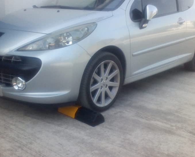 RWS-222 - Tope de goma para ruedas, para delimitar áreas de estacionamiento y organizar aparcamientos, de 50 x 16 x 9,5 cm: Amazon.es: Bricolaje y ...