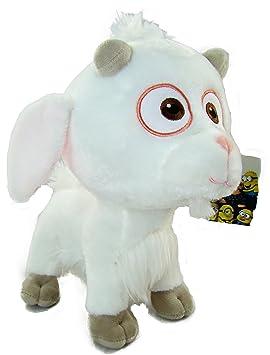 DM3 MINIONS: Peluche Uni Cabra Minions 28 cm pelo blanco (Gru mi villano favorito