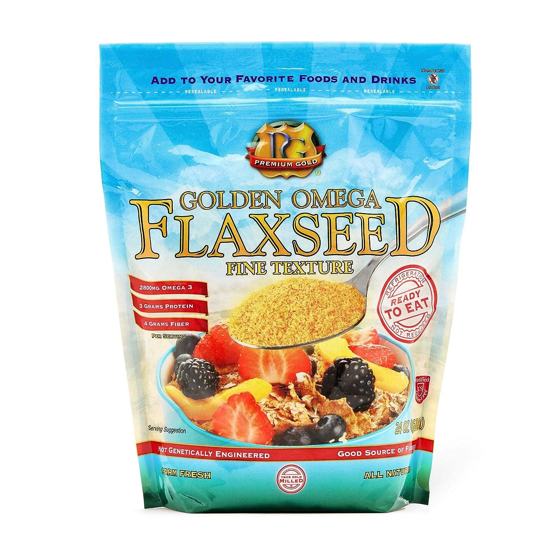 Premium Gold Flax Products Inc. Semilla de lino pre-molida ...