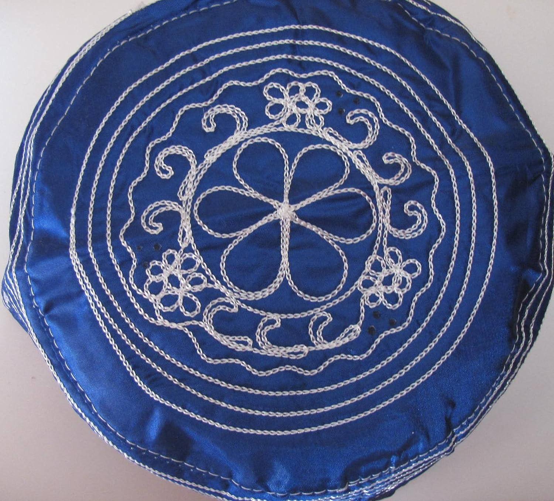 Amazon.com: Babalawos Ifa Skull Caps Sombreros Gorros de Santeria (Azul Blue): Health & Personal Care