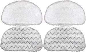 Steam Mop Pads for Bissell PowerFresh 1940 1440 1544 Series Model 5938, 1806, 2075A, 19402, 19404, 19408, 1940A, 1940Q, 1940T, 1940W, 4 Pack