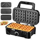 Amazon.com: Oster 3883 Belgian Wafflemaker, Chrome