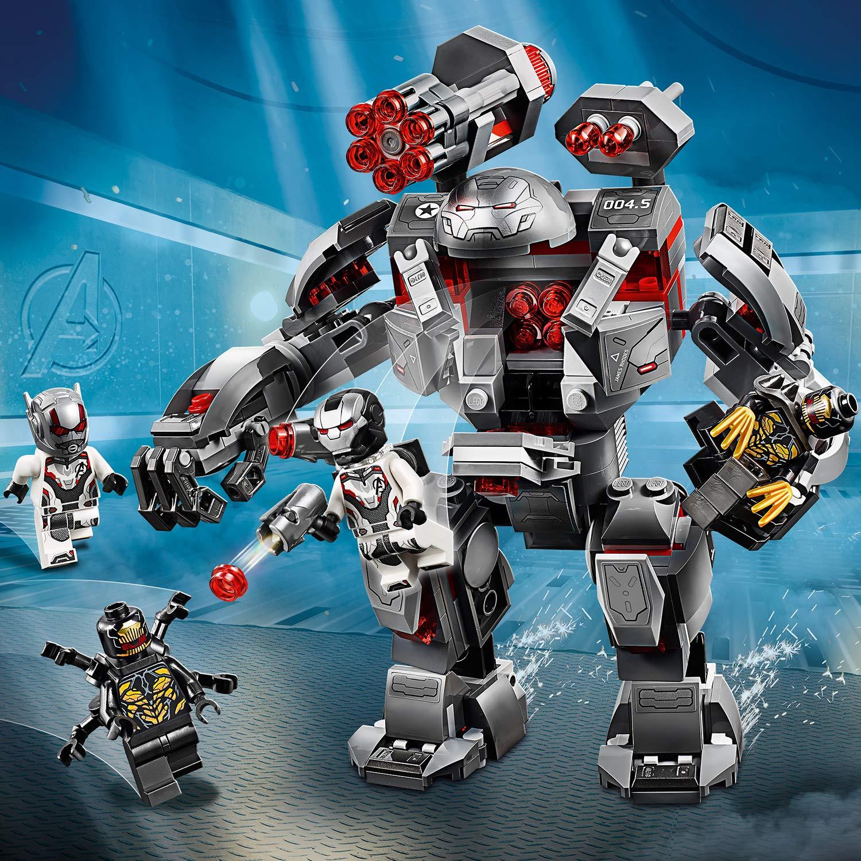 LEGO Super Heroes - Depredador de Máquina de Guerra, Robot de Juguete para recrear las Aventuras de los Vengadores (76124): Amazon.es: Juguetes y juegos