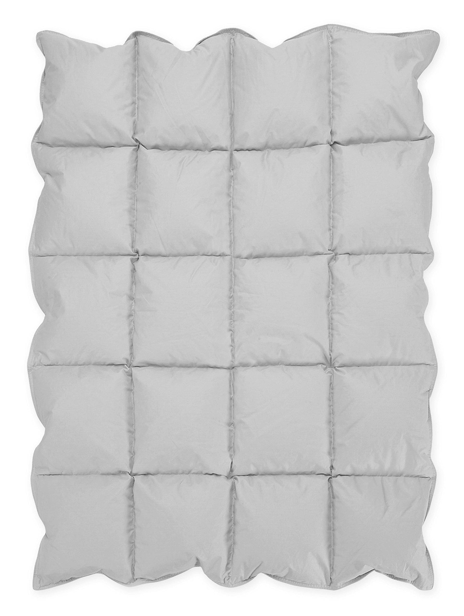Gray Baby Down Alternative Comforter/Blanket for Crib Bedding