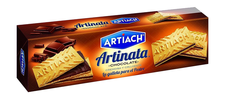 Artiach Artinata Barquillo Relleno de Crema de Chocolate - 210 g: Amazon.es: Amazon Pantry