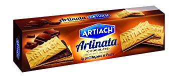 Artiach Artinata Barquillo Relleno de Crema de Chocolate - 210 g