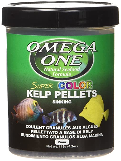 Omega One Super Color Veggie Kelp 2mm Sinking Pellets
