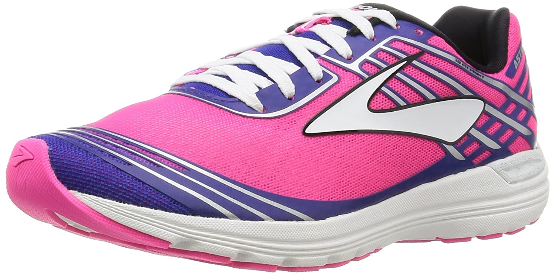 Brooks Asteria, Chaussures de Running Femme, Multicolore (Plumcaspiadivapinkorangepop 1b871), 38 EU