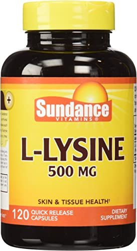 Sundance L-Lysine 500 mg Tablets, 120 Count