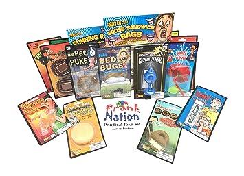Amazon.com: Practical Jokes Kit-Christmas Gifts for Kids-Pranks and ...
