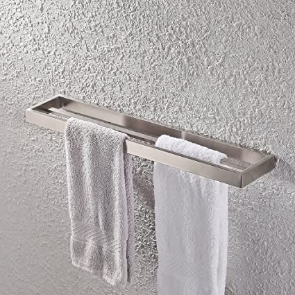Exceptionnel KES Bathroom Double Towel Bar Wall Mount Brushed Finish, SUS304 Stainless  Steel, A23001S60