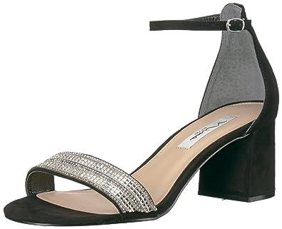 52e4dc61102d NINA Women s Elenora Dress Sandal gm-Black 5 ...