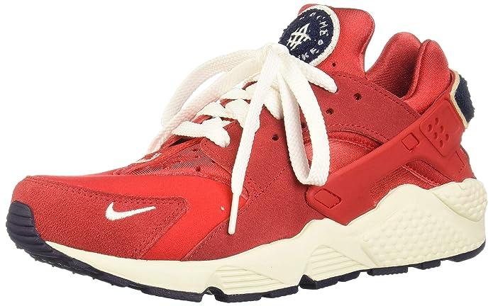 Nike Air Huarache Run Schuhe Herren rot (University Red/Sail/Blackened Blue)
