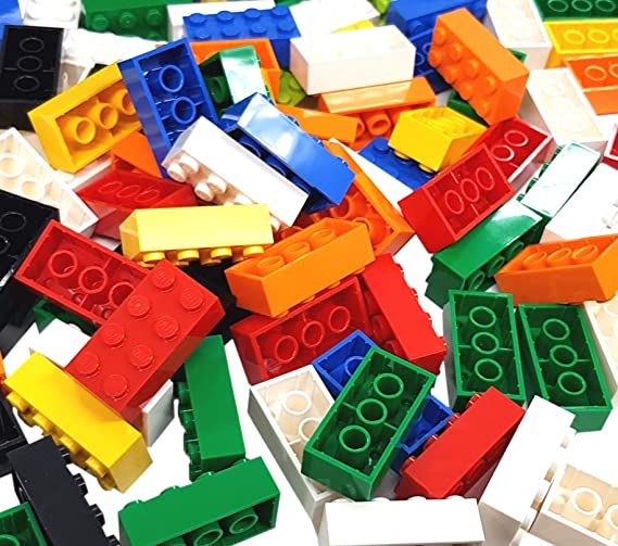 you will get 20 x 4x2 + 30 x 2x2 Lego FIFTY Standard Building Bricks