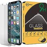 Jasinber 2-Pack Mica de Vidrio Cristal Templado para iPhone 11 Pro/iPhone XS/iPhone X (5.8 Pulgadas)