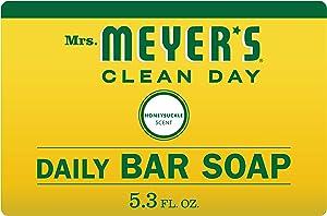Mrs. Meyer's Bar Soap, Honeysuckle, 5.3 OZ