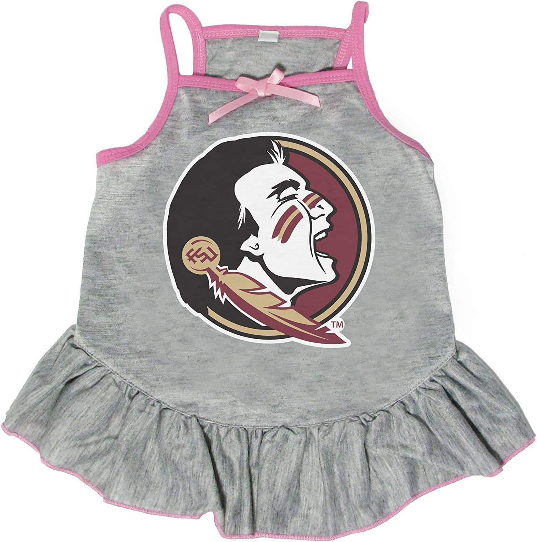 Littlearth NCAA Florida State Seminoles Pet Dress Medium