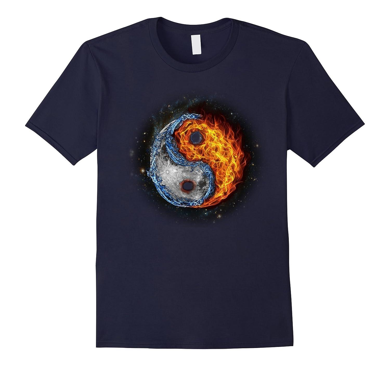 Yin Yang Total Solar Eclipse 2017 T-shirt-Art