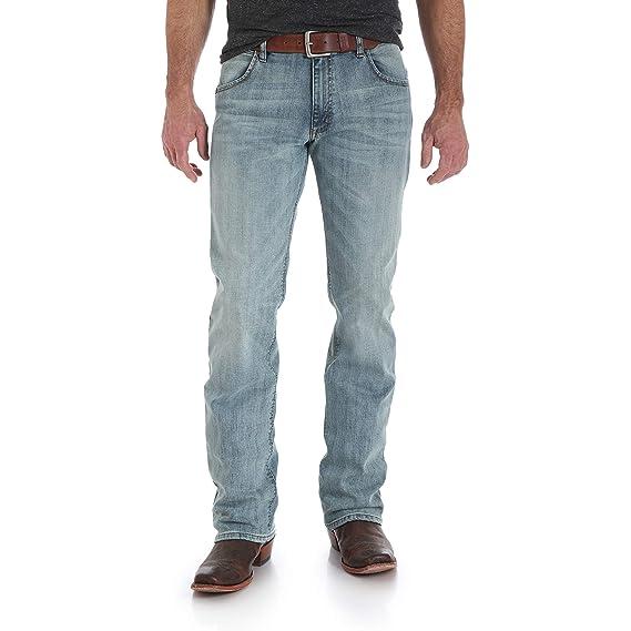 1fa812af Wrangler Men's Retro Slim Fit Bootcut Jean: Amazon.co.uk: Clothing