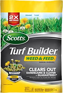 Scotts Turf Builder Weed and Feed Fertilizer (Not Sold in Pinellas County, FL) , 5M - 25006A
