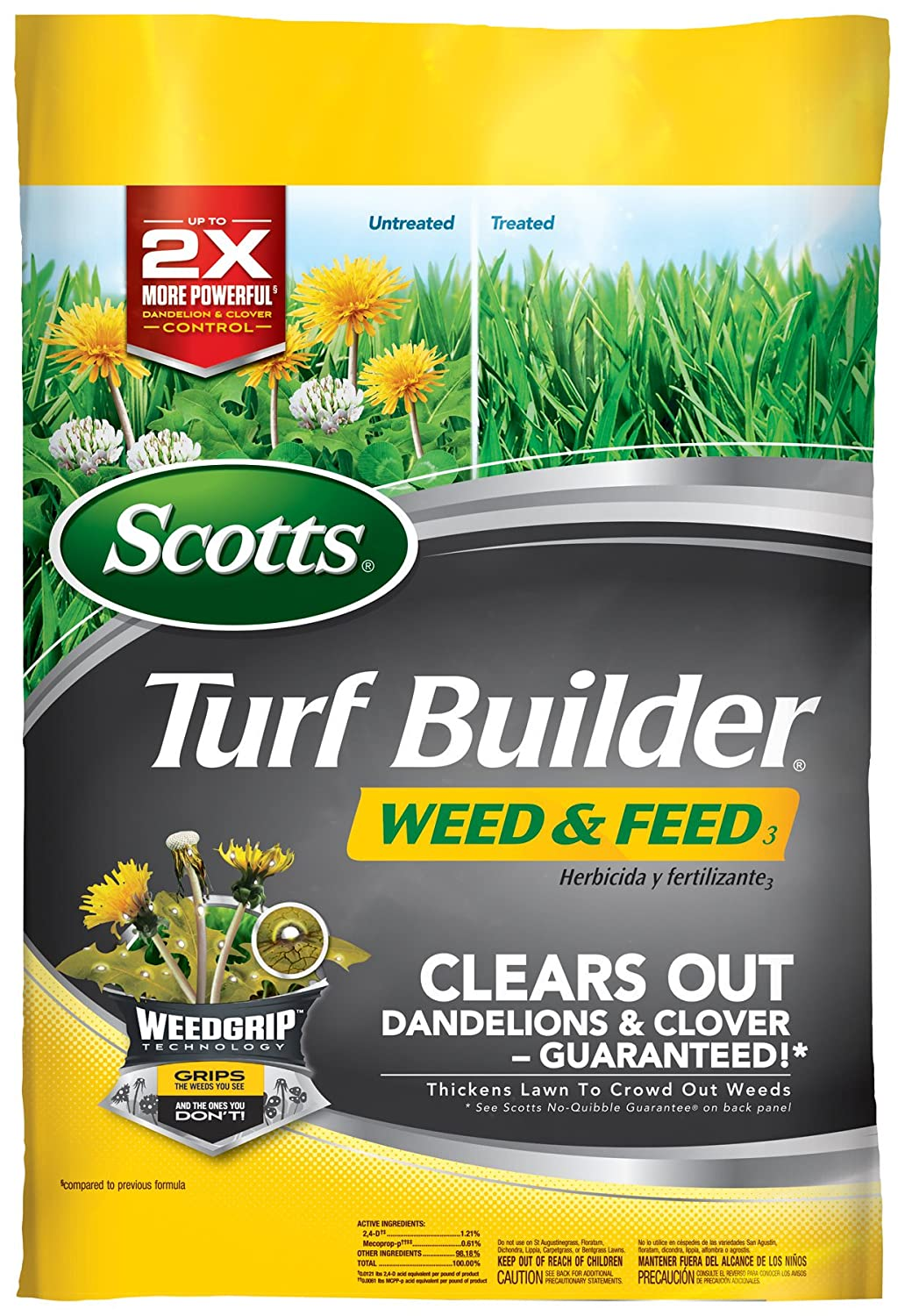 Scotts- Turf Builder Dandelion and Clover Control