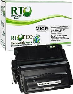 Renewable Toner 38A Q1338A 42A Q5942A Compatible MICR Toner Cartridge for Check Printing for HP Printers 4200 4240 4250 4350 Series