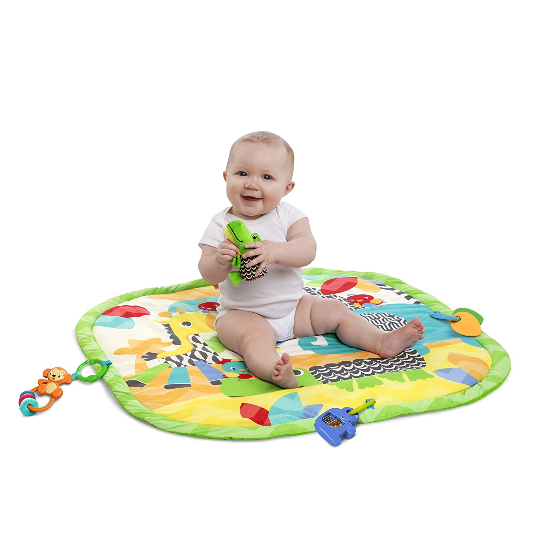 Bright Starts Sensory Safari Activity Gym Amazon Baby