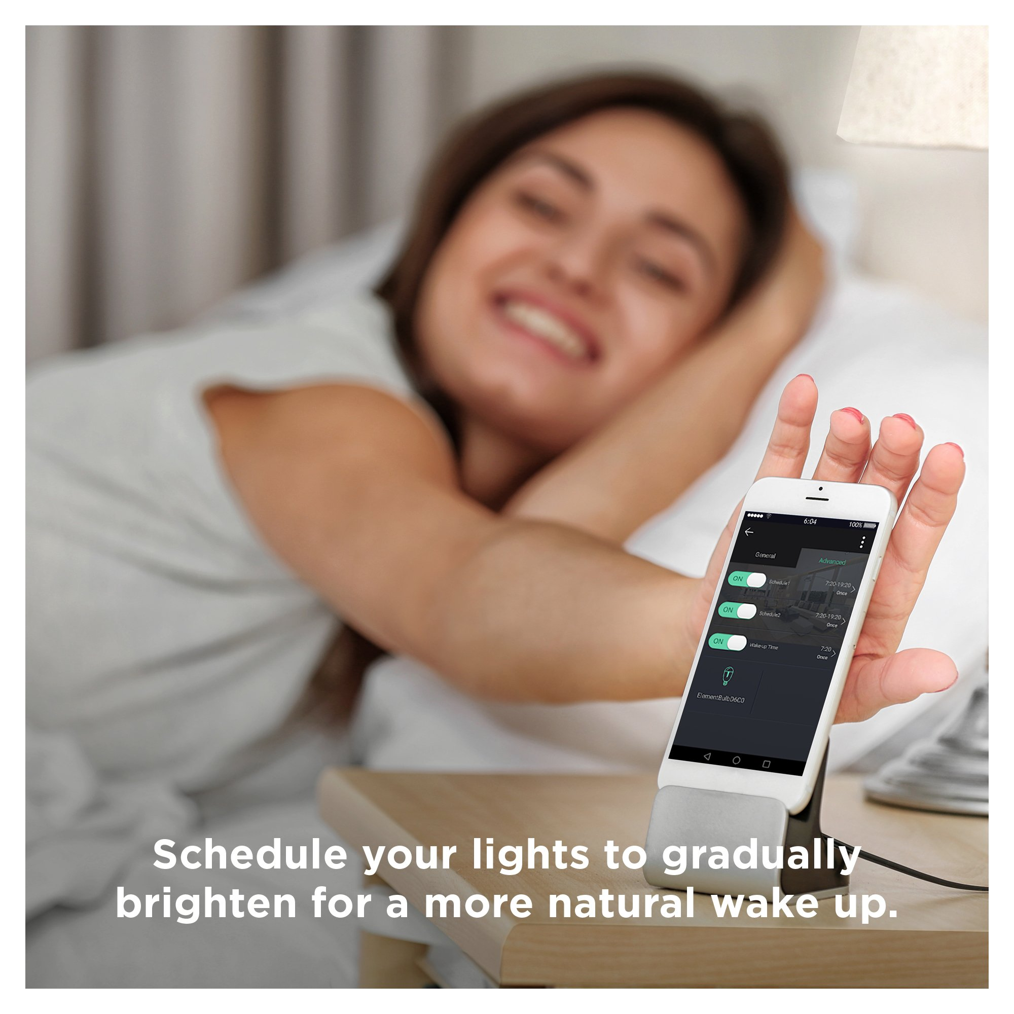 Sengled Element Plus Smart LED Light Bulb (Hub Required), A19 Dimmable LED Light Tunable White 2700-6500K 60W Equivalent, Works with Alexa/Echo Plus/SmartThings/Google Assistant, 1 Pack by Sengled (Image #6)