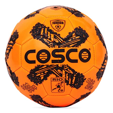 Cosco Rio Football, Size 3  Small Sized Football    Orange Colour. Football Balls