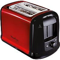 Moulinex LT261D broodrooster Subito, rood metallic, rood, zwart