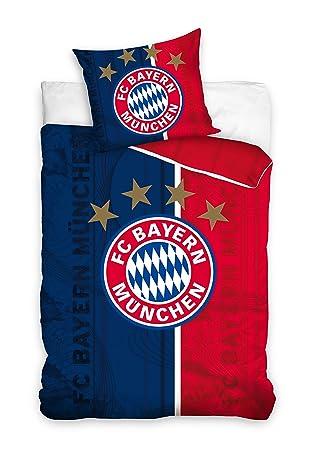 Fc Bayern München Bmfc171004 Fußball Bettwäsche Football Club Bed