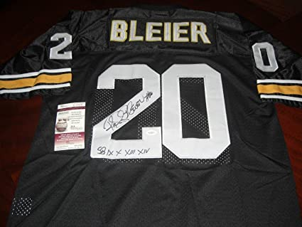 96a29d83007 Rocky Bleier Autographed Jersey - coa - JSA Certified - Autographed NFL  Jerseys at Amazon's Sports Collectibles Store