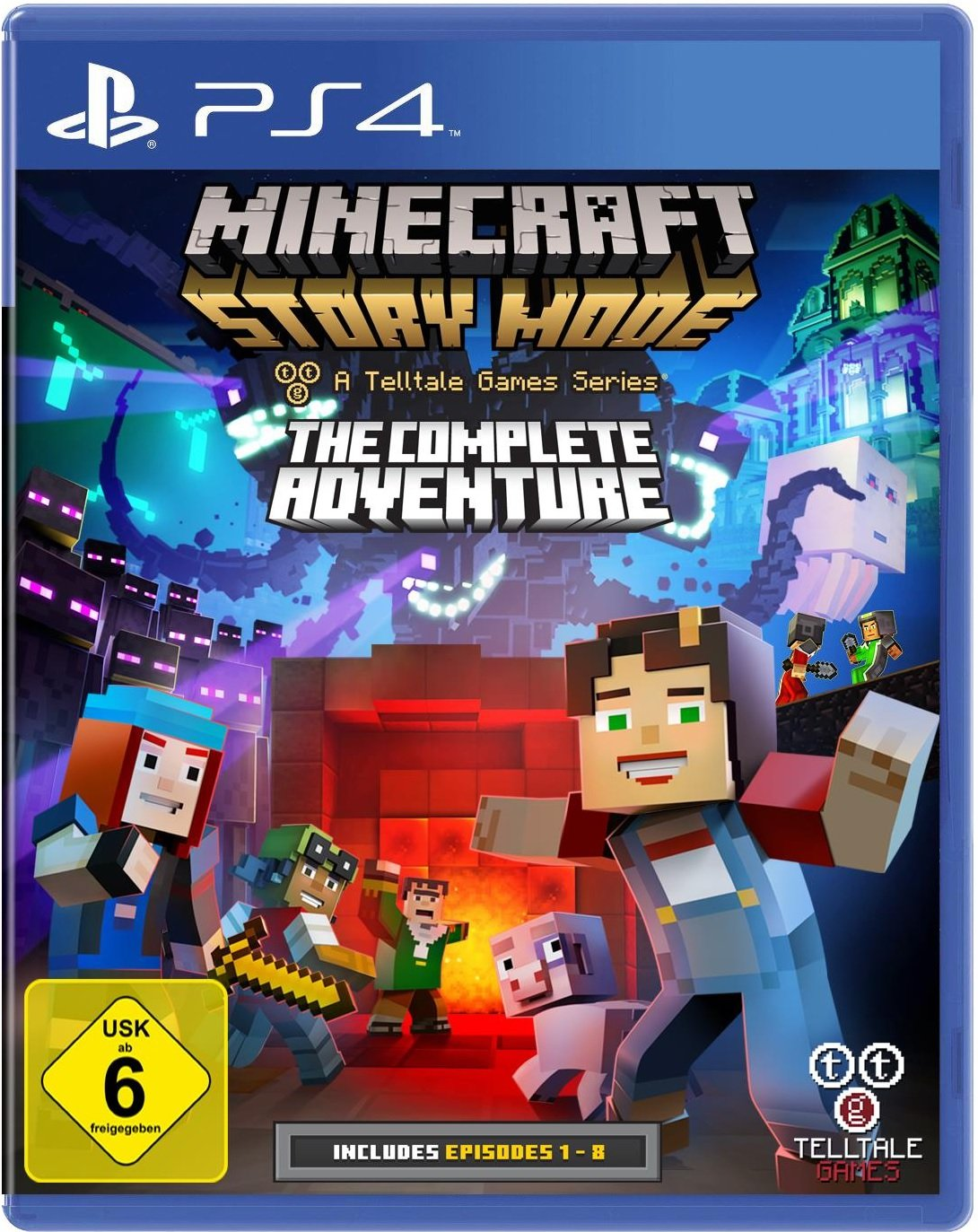 Minecraft Story Mode The Complete Adventure A Telltale Game - Minecraft fubball spielen