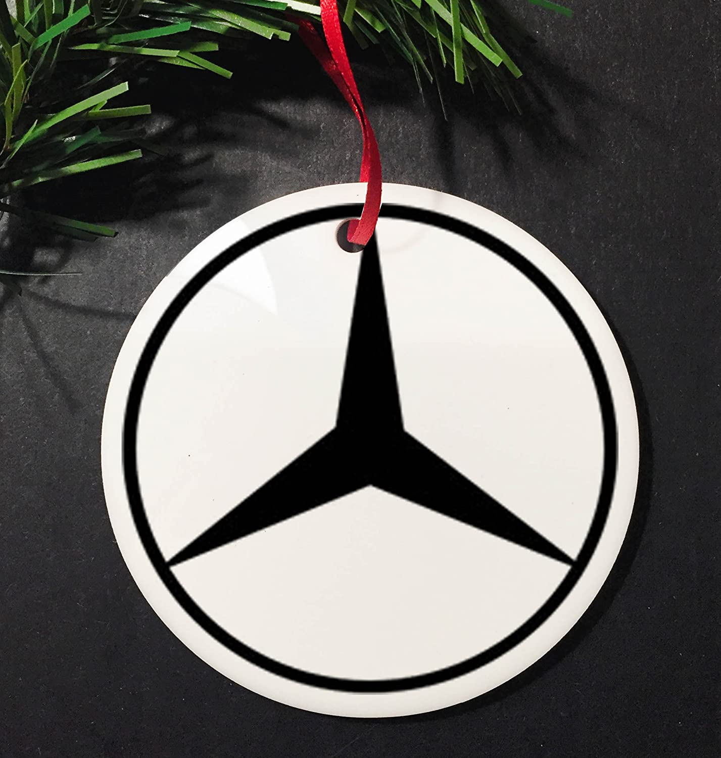 100 logo mercedes benz buy signs history of logo for Mercedes benz christmas ornament