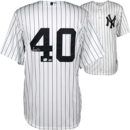 16ffd09980f Luis Severino New York Yankees Autographed White Replica Jersey - Fanatics  Authentic Certified - Autographed MLB Jerseys at Amazon s Sports  Collectibles ...
