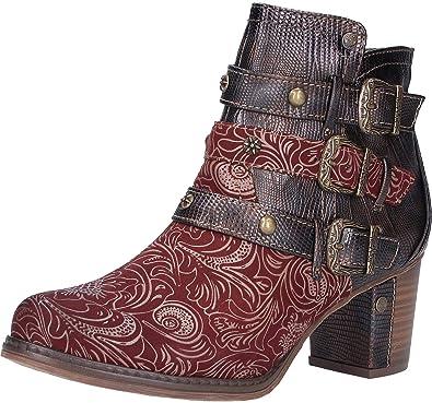 1286 504 Chaussures Femmes Sacs et Mustang Bottine Sdpqx5wPd