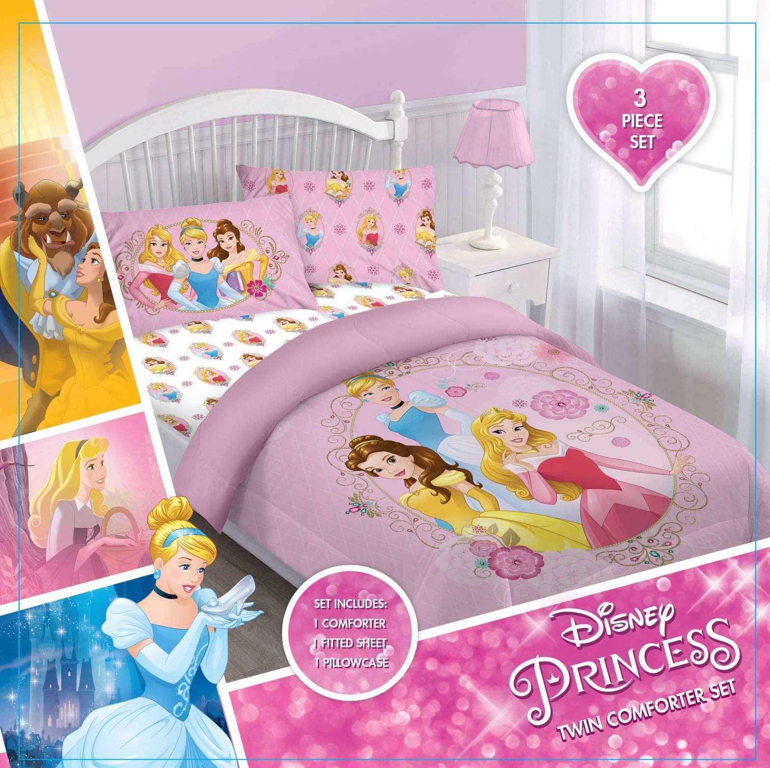 Comforter Set - Disney Princess Courage Twin