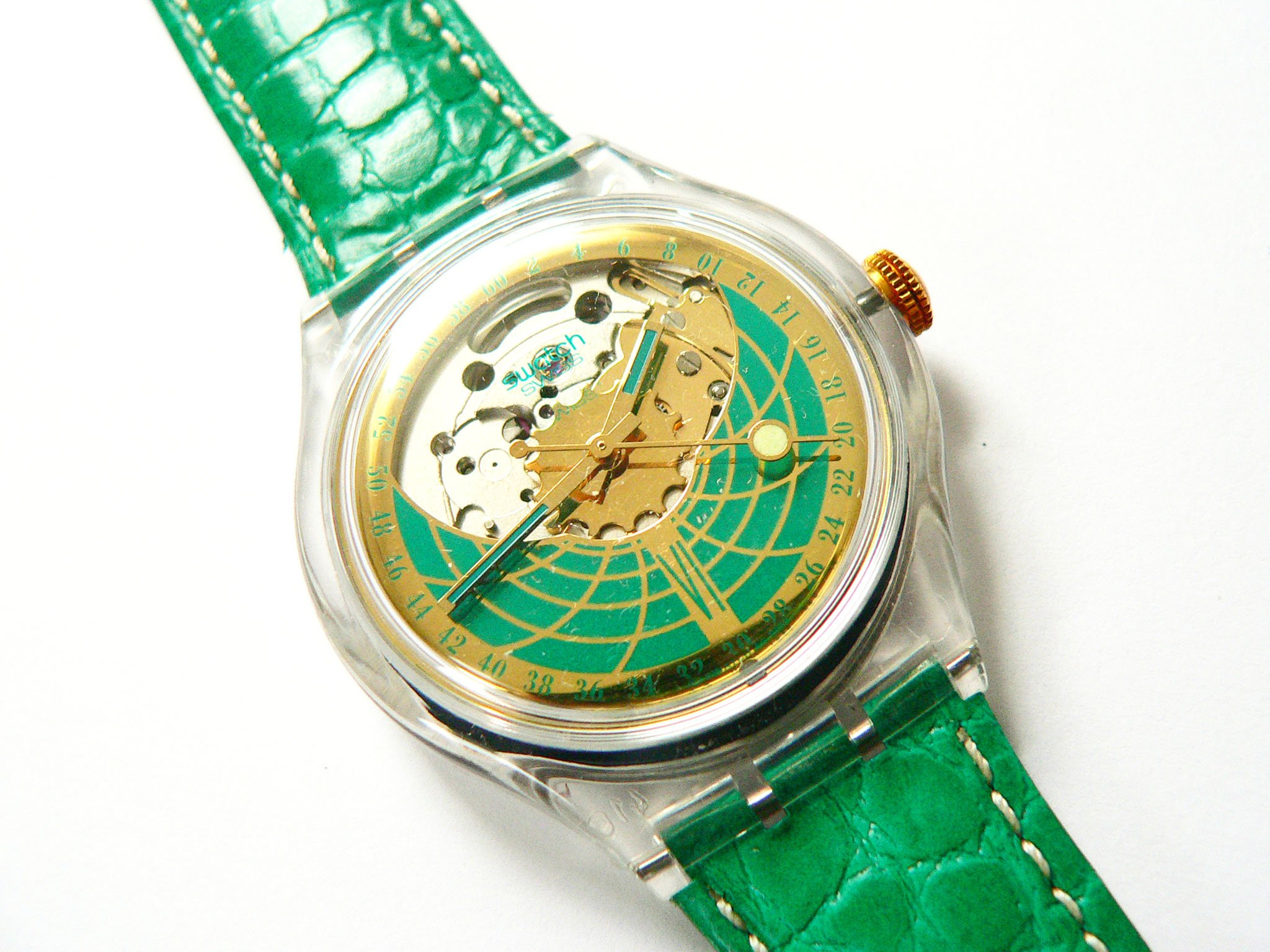 1994 Spring Summer Collection Automatic swatch watch Ramarro SAK111.