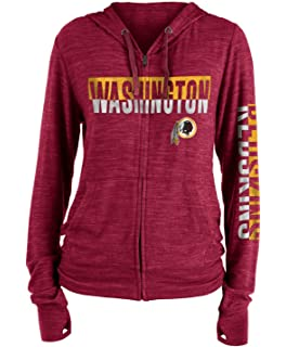 c738d23e7 New Era Washington Redskins Women s NFL Fumble Space Dye Hooded Sweatshirt