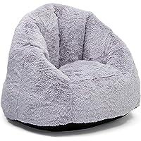 Delta Children Snuggle Foam Filled Chair, Tween Size, Grey