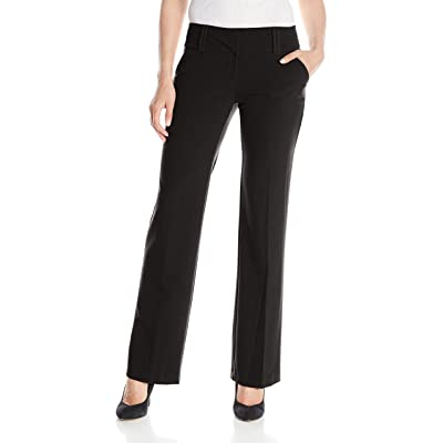 My Michelle Women's Perfect Pant with Wide Waistband: Clothing